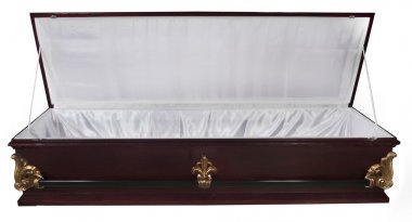 Open Casket isolated