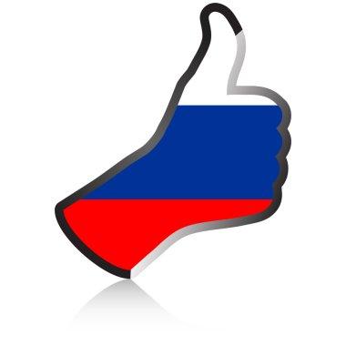 russian hand giving ok
