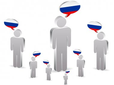 group of russian