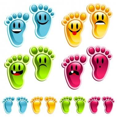 Party Happy Smiley Feet