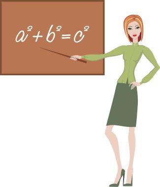 Teacher explains the theorem