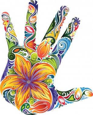 "Картина, постер, плакат, фотообои ""Палм цветок"", артикул 7540502"