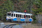 Fotografie Einfahrt Zugspitzbahn