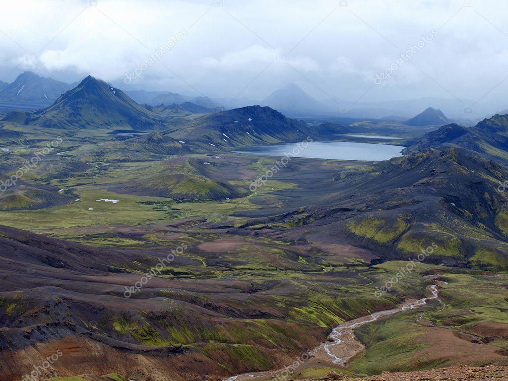 Lake Alftavatn, Iceland