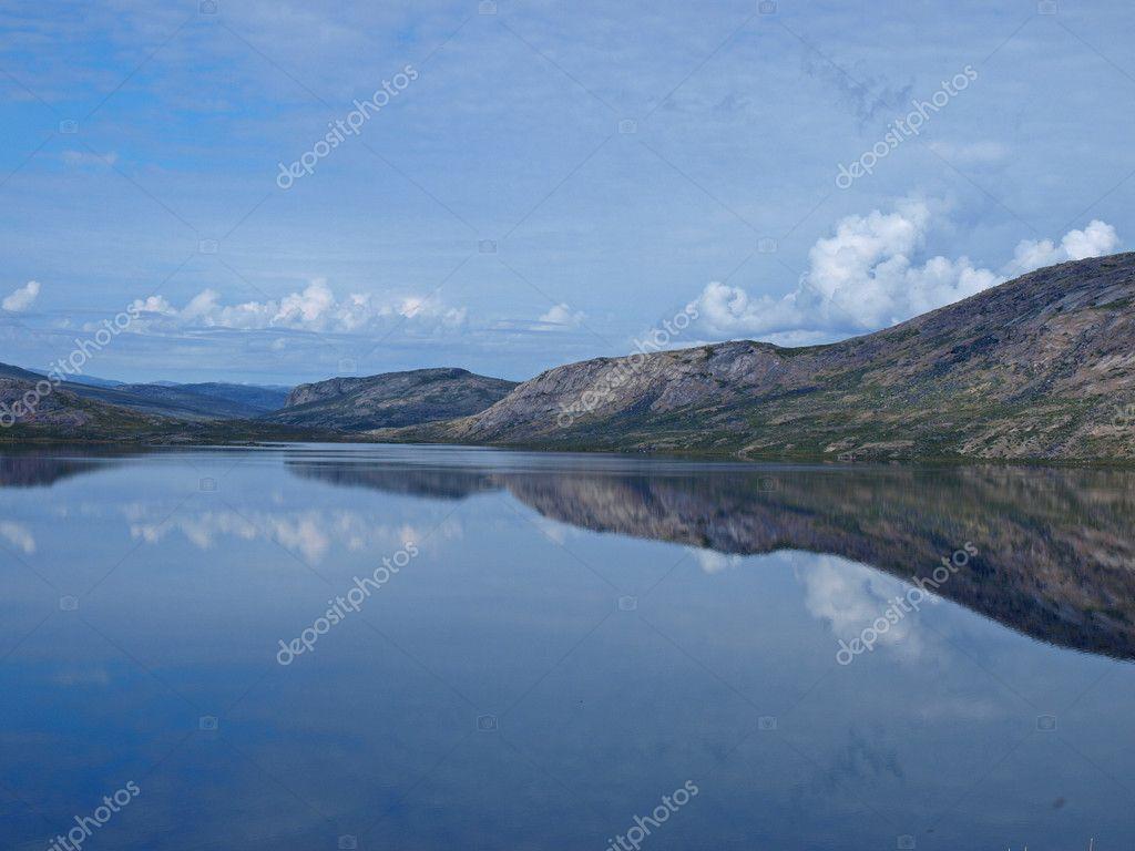 Lake Amitsorsuaq Greenland