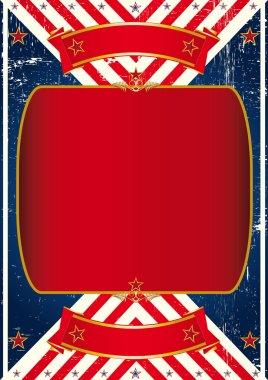 Vintage american leaflet