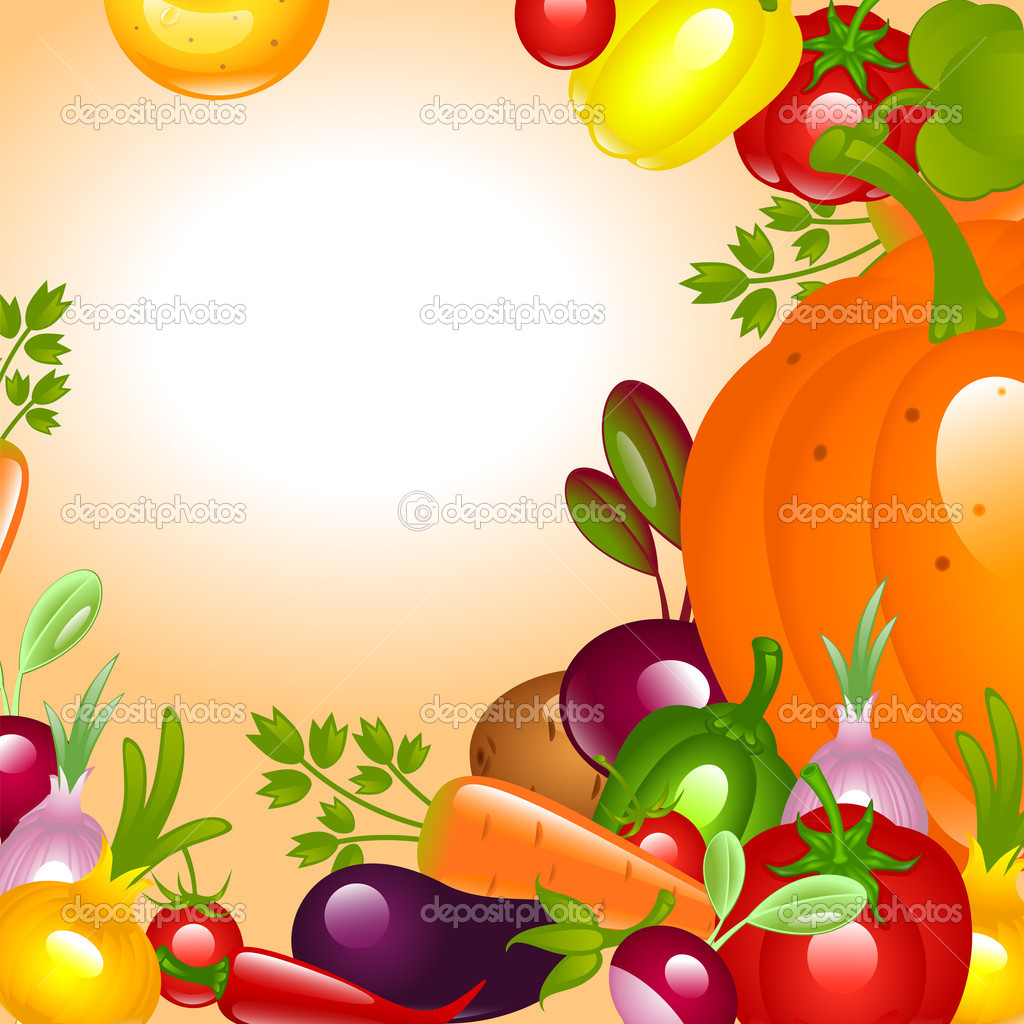 Thanksgiving. Vegetables background.