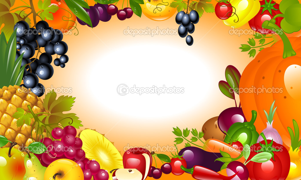 Thanksgiving. Vegetable, fruit background.