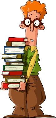 Cartoon nerd