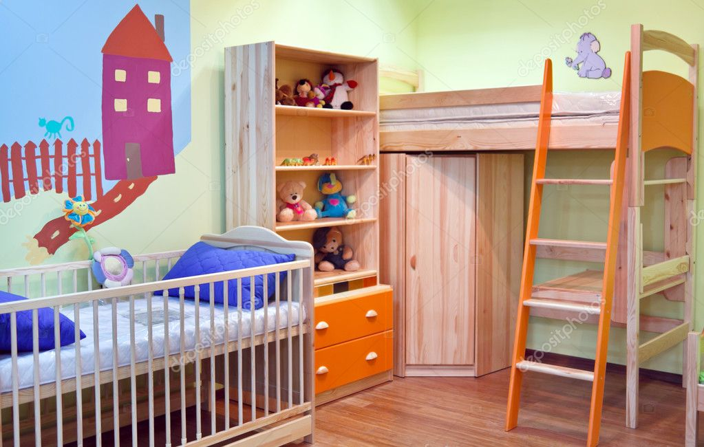 Colourful Room for Small Boy