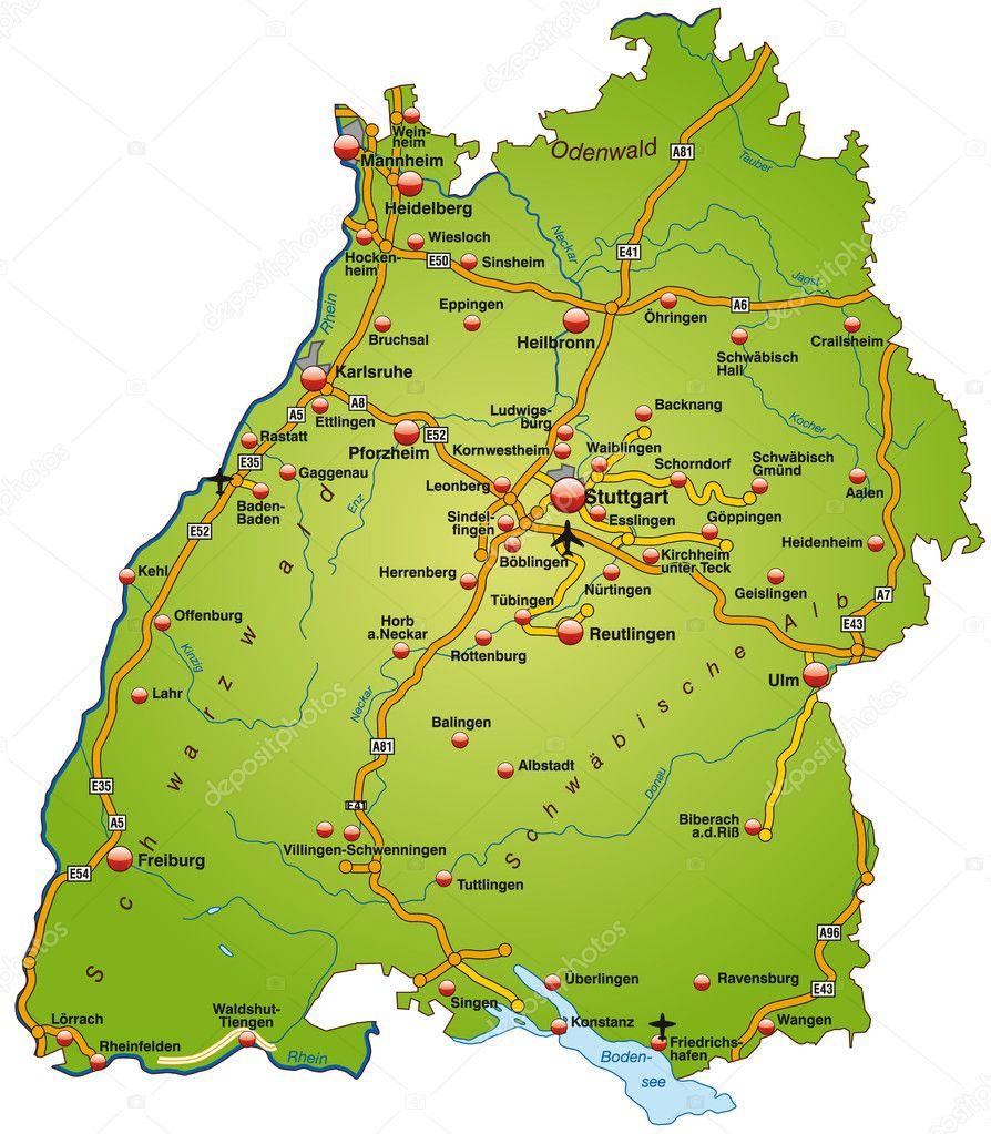 Autobahnen Baden Württemberg