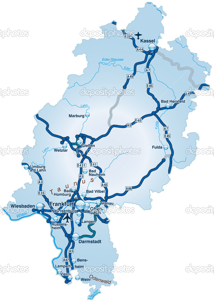 Autobahnen Hessen