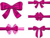 Fotografie Violet gift ribbon set