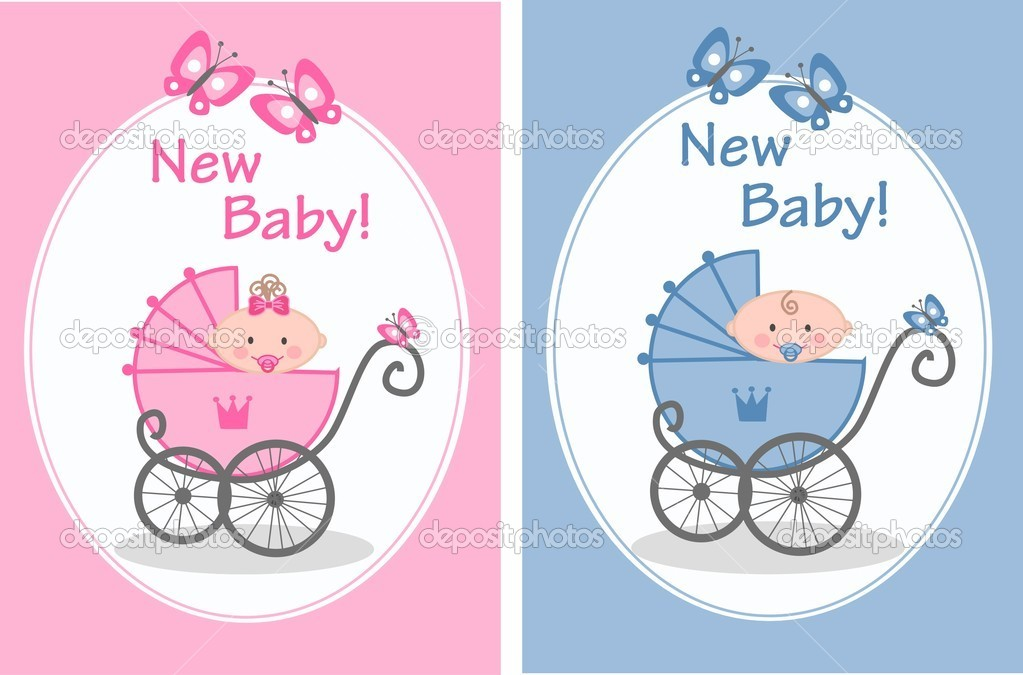 Newborn Baby Boy Stock Vector C Popocorn 7705530