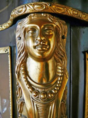 Golden Woman's Head