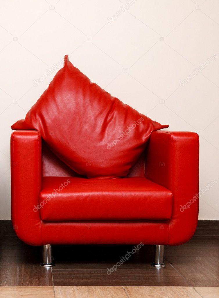 Rode Leren Stoel.Rode Leren Stoel Stockfoto C Depfotovampir 7847476