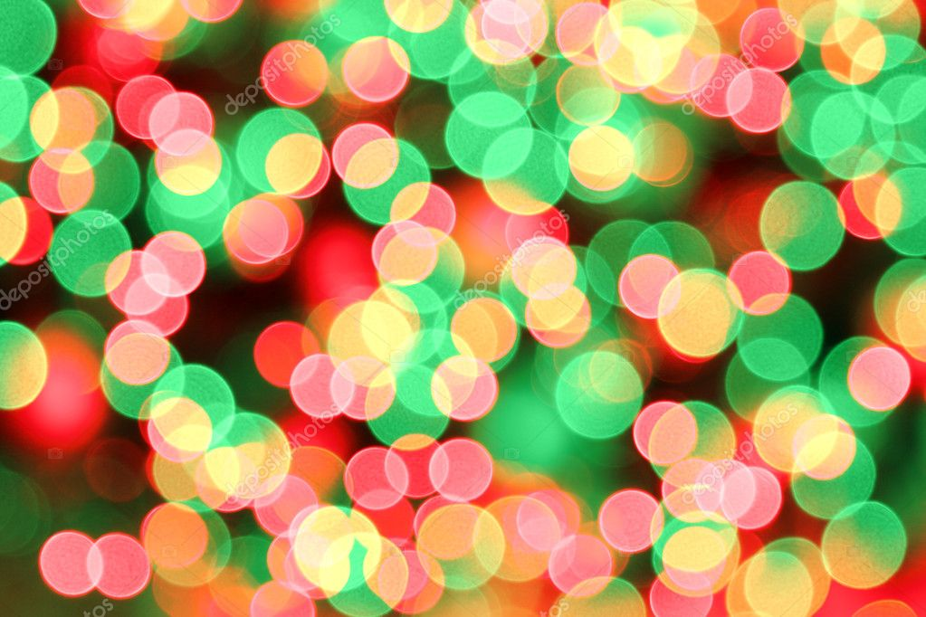 background of blurred red green christmas lights photo by depfotovampir - Green And Red Christmas Lights