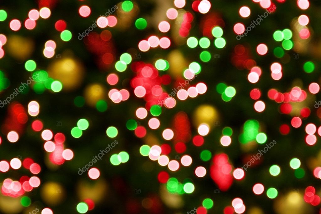 Captivating Background Of Blurred Christmas Lights U2014 Photo By Depfotovampir
