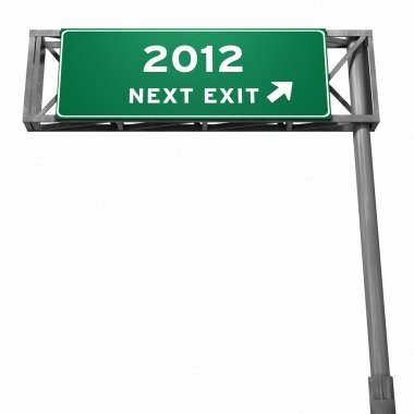 Freeway Exit Sign (Year 2012)