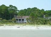 Upscale dům na pláži, oves moře, hilton head island, Jižní carolin