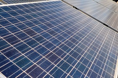 Diminishing Perspective Photovoltaic Solar Panels