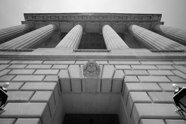 Imposing Government Building Washington DC