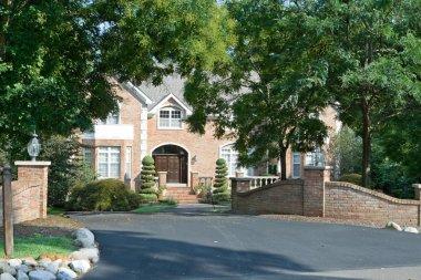 Grand Brick Single Family House in Suburban Philadelphia, Pennsy
