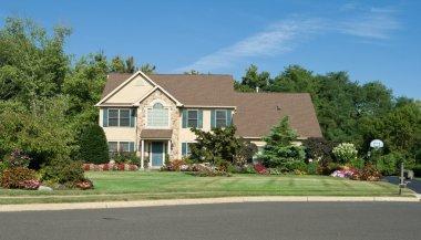 Georgian Style Single Family House in Suburbs Philadelphia, PA,