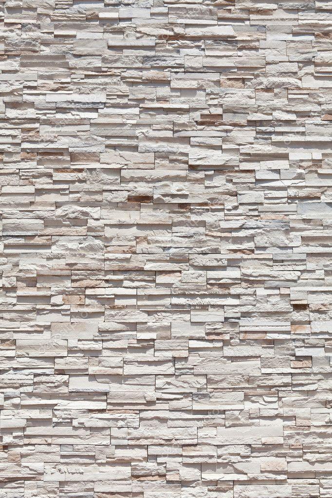 Full Frame Sandstone Stone Wall Made of Many Blocks