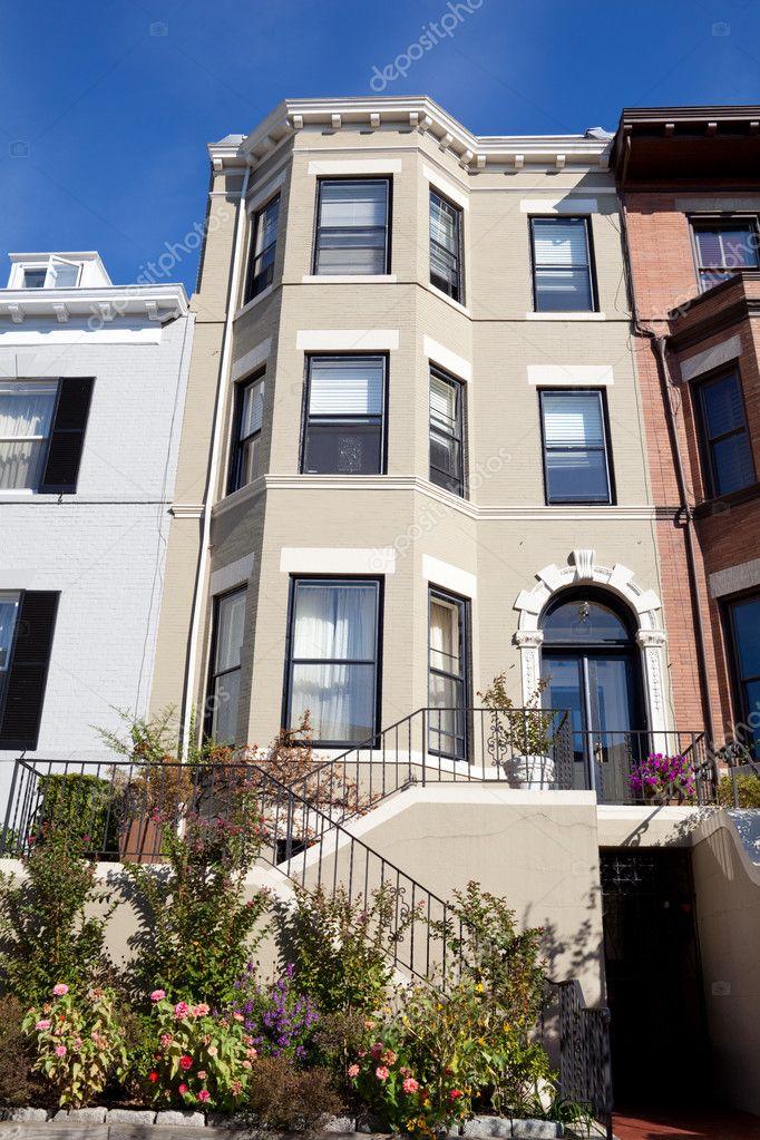 5d039e0777d8 σπίτι κήπο Italianate κτίσμα Ουάσιγκτον dc — Φωτογραφία Αρχείου ...