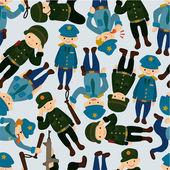 Tisk Obrazu Plakatu Fototapety Samolepky Policie A Vojak Kresleny
