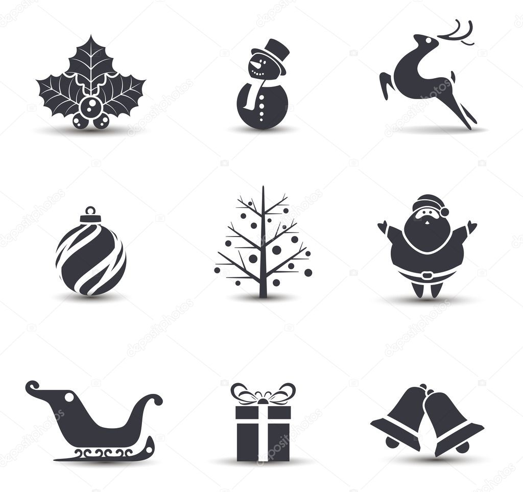 The Best Christmas Ornaments Vector