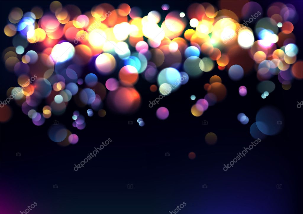 Blurred lights background.
