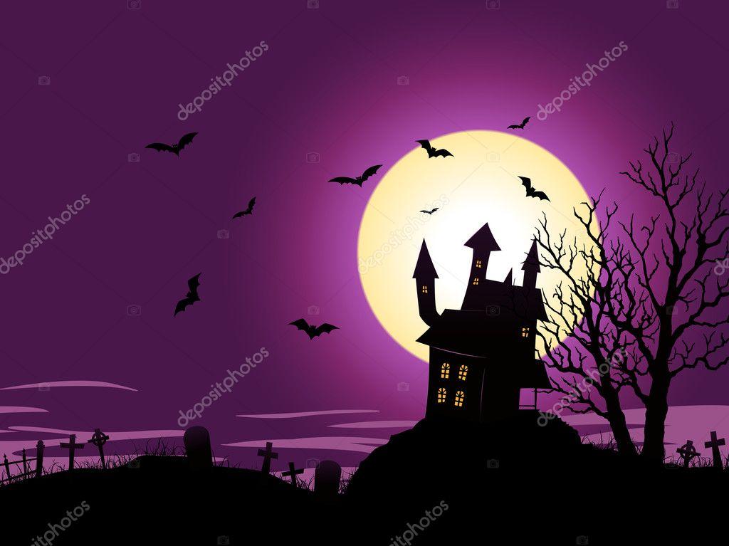 Cartoon Halloween Background Stock Vector C Benchyb 7847751