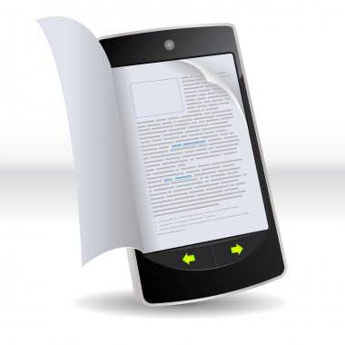 Smartphone Flipping Book