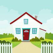 karikaturní domu