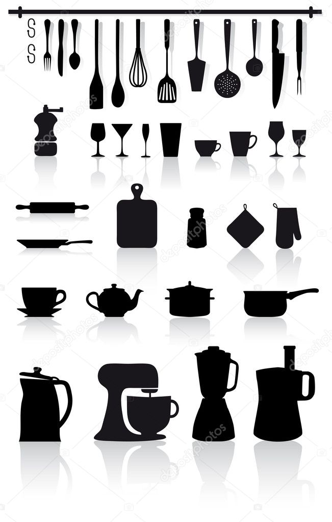 Kitchen and home utensils and cutlery