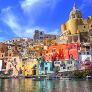 Procida, Naples. Italy