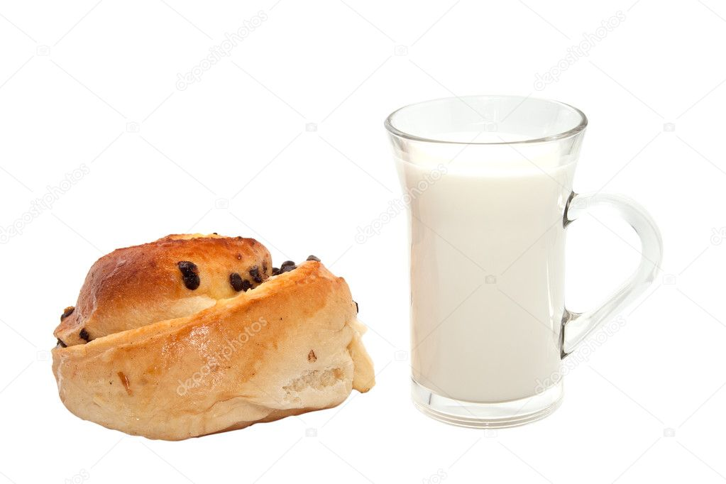 Картинки по запросу картинки  стакан  молока  и булочка