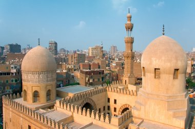 Mosque Ibn Tulun in Cairo city, Egypt