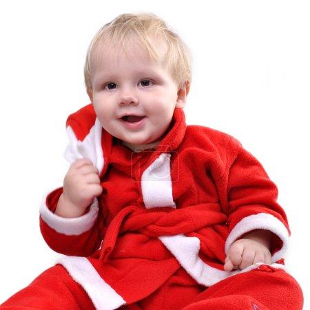 Santa toddler boy