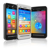 Serie di smartphone touchscreen