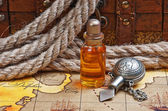 Lahvičky s parfémy olejů