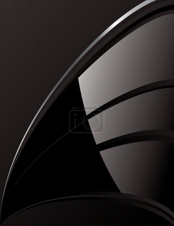 Abstract Black Tech Background