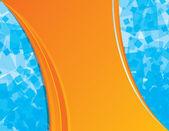 Blue and orange backgdround