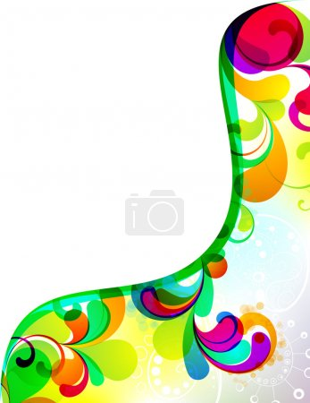 Illustration for EPS10. Colorful editable background design - Royalty Free Image