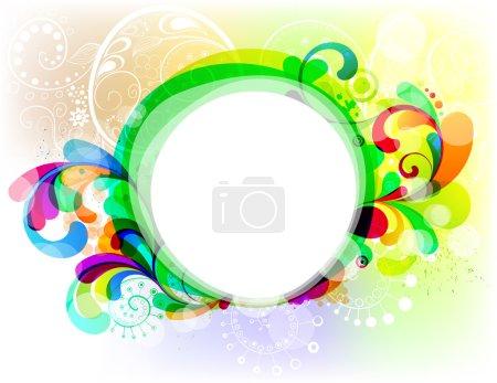 Illustration pour EPS10. Cadre à la mode modifiable pour votre design - image libre de droit