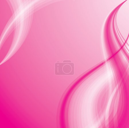 Pink background with silky wave