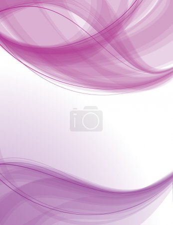 Illustration for Abstract smooth background with space for your message - Royalty Free Image