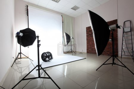 Photo for Interior of a modern photo studio - Royalty Free Image